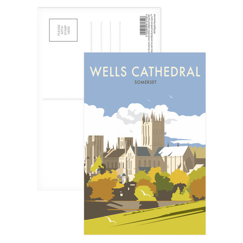 Wells Catherdral, Somerset Postcard Pack