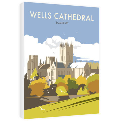 Wells Catherdral, Somerset 40cm x 60cm Canvas