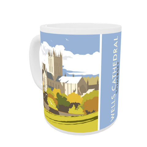 Wells Catherdral, Somerset Coloured Insert Mug