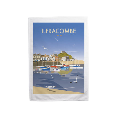 Ilfracombe, Devon Tea Towel
