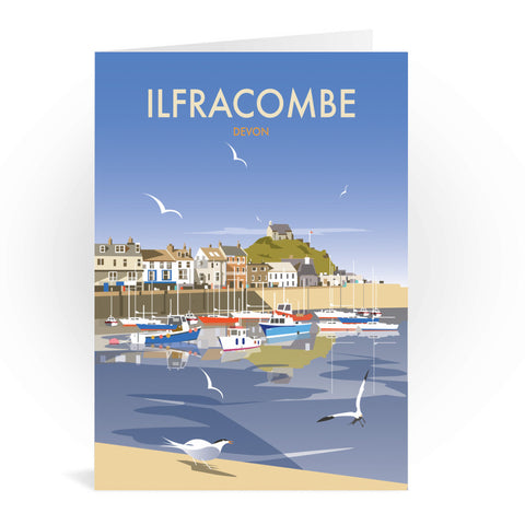 Ilfracombe, Devon Greeting Card 7x5
