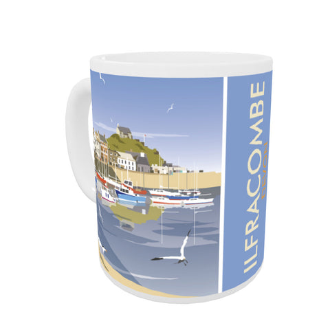 Ilfracombe, Devon Coloured Insert Mug