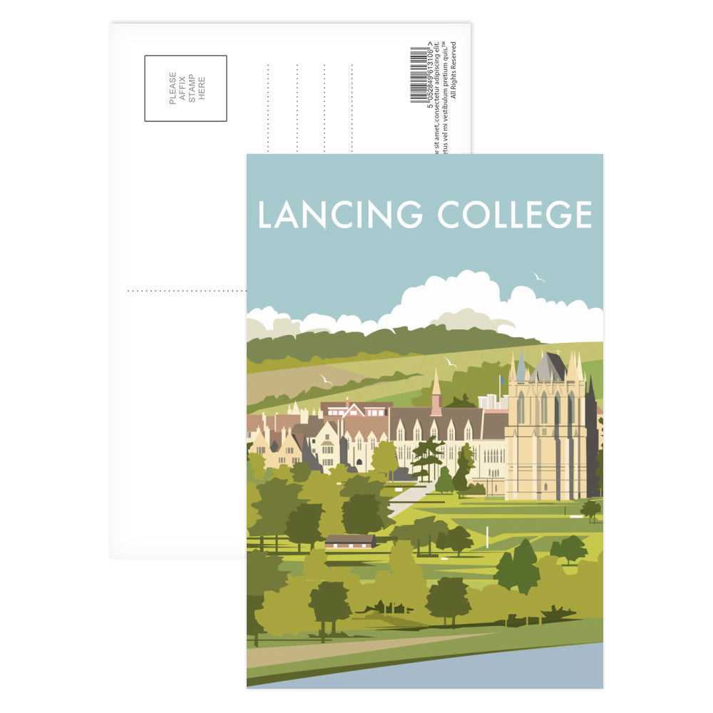 Lancing College Postcard Pack