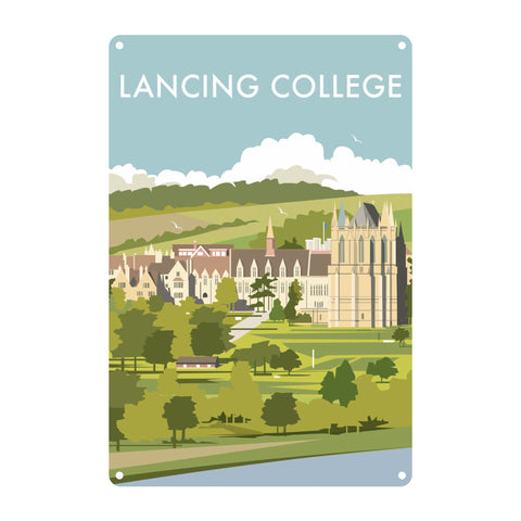 Lancing College Metal Sign