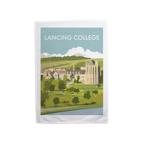 Lancing College Tea Towel