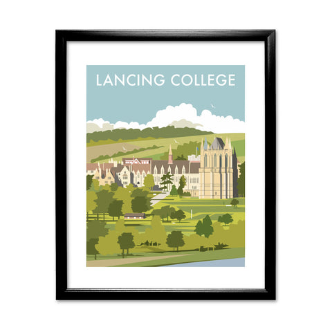 Lancing College 11x14 Framed Print (Black)
