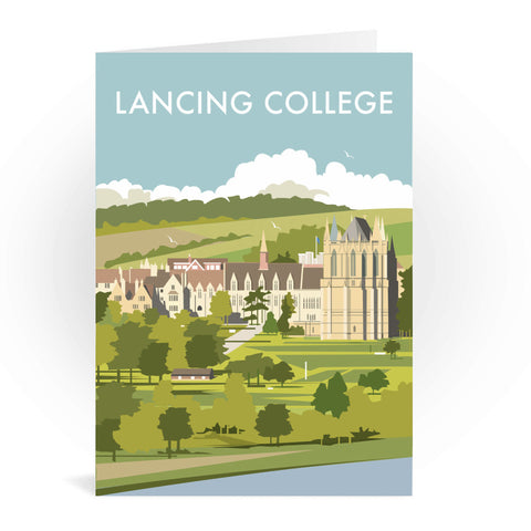 Lancing College Greeting Card 7x5