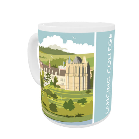 Lancing College Coloured Insert Mug