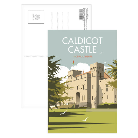 Caldicot Castle, Monmouthshire Postcard Pack