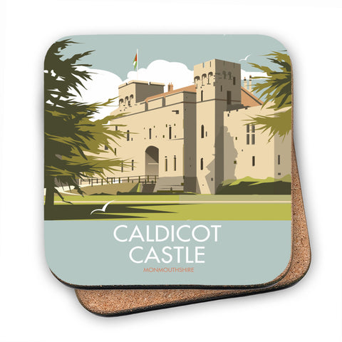 Caldicot Castle, Monmouthshire MDF Coaster
