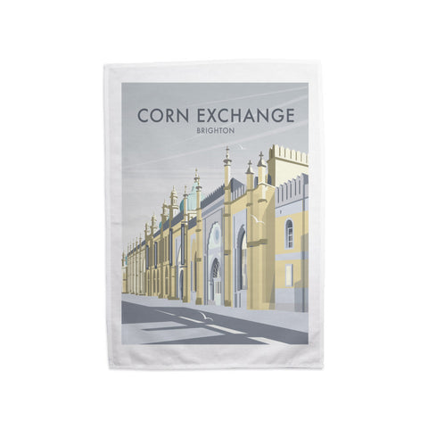 Corn Exchange, Brighton Tea Towel