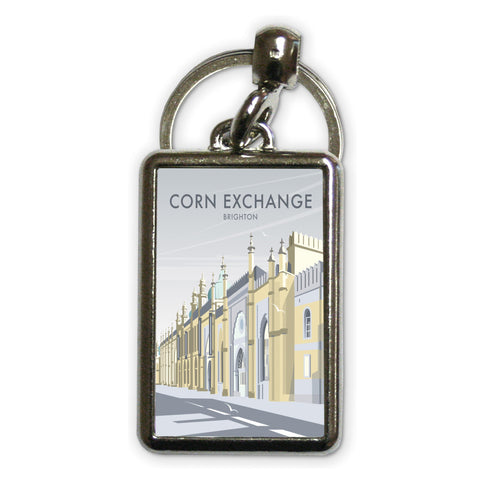 Corn Exchange, Brighton Metal Keyring