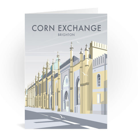 Corn Exchange, Brighton Greeting Card 7x5