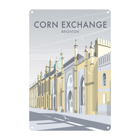 Corn Exchange, Brighton Metal Sign