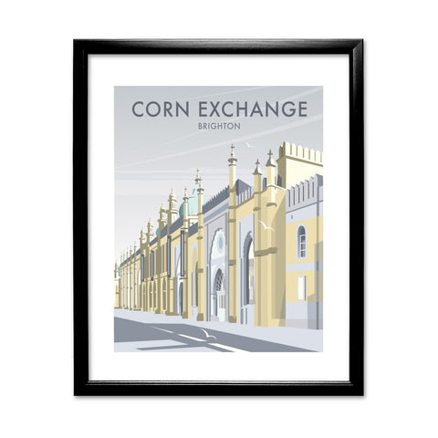 Corn Exchange, Brighton 11x14 Framed Print (Black)