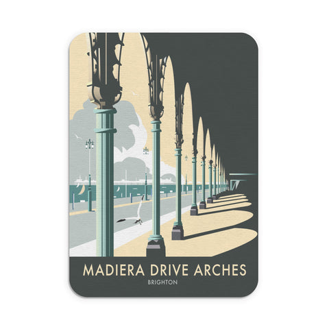 Madiera Drive Arches, Brighton Mouse Mat