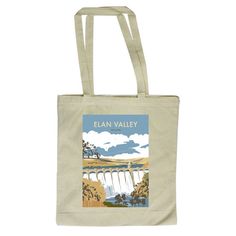 Elan Valley, Rhayader Canvas Tote Bag