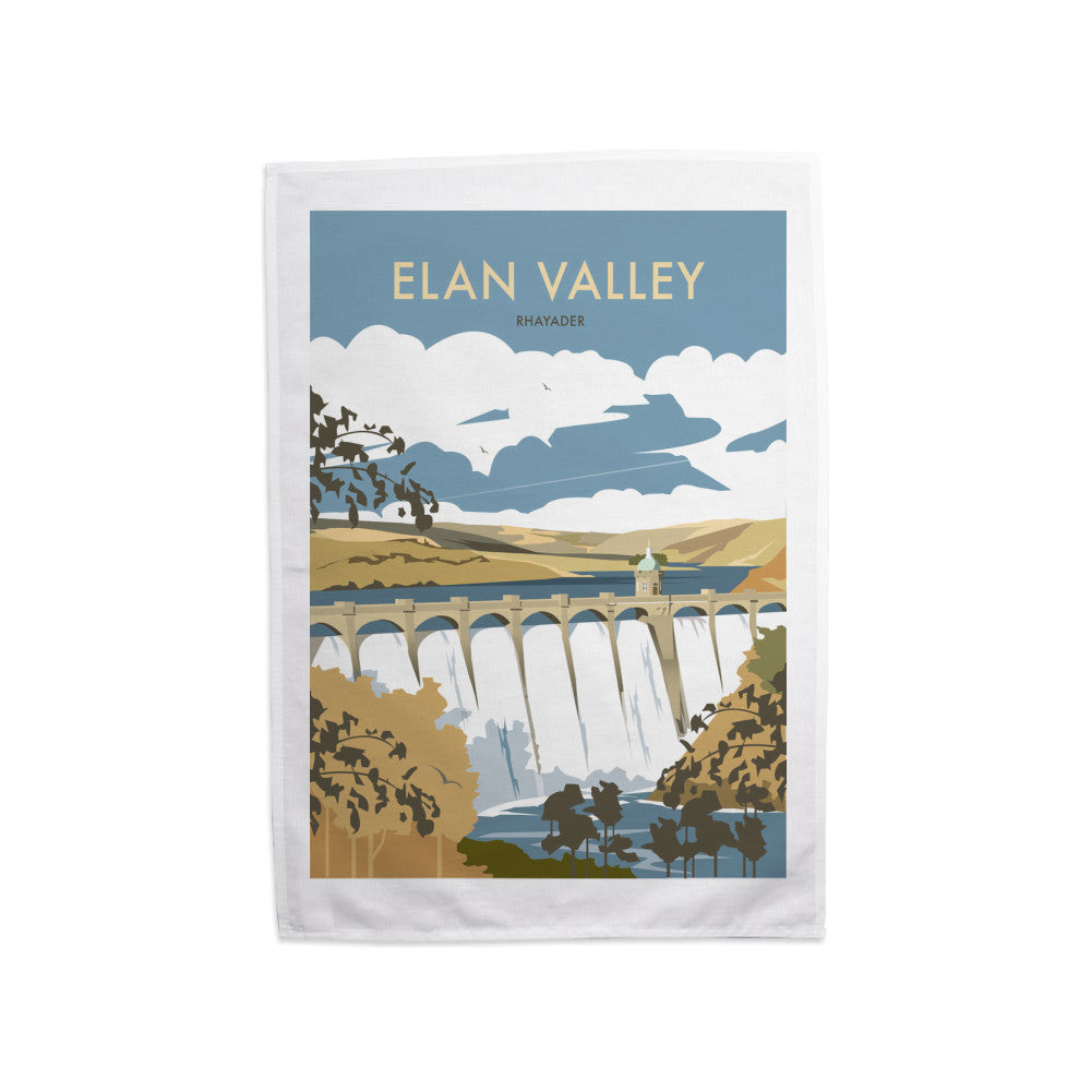Elan Valley, Rhayader Tea Towel