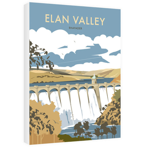 Elan Valley, Rhayader 40cm x 60cm Canvas