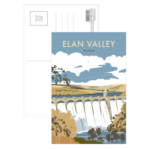 Elan Valley, Rhayader Postcard Pack
