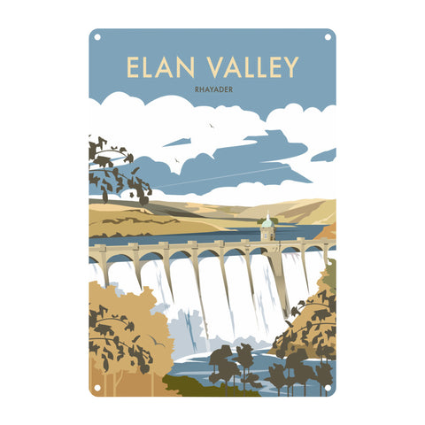 Elan Valley, Rhayader Metal Sign