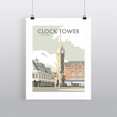 Clock Tower, Leicester 90x120cm Fine Art Print