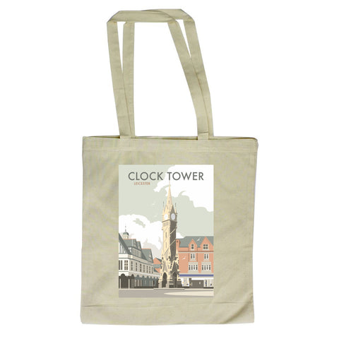 Clock Tower, Leicester Canvas Tote Bag