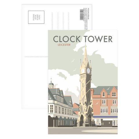 Clock Tower, Leicester Postcard Pack