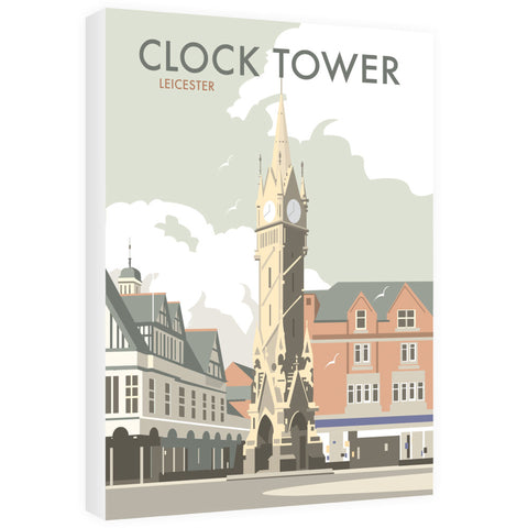 Clock Tower, Leicester 40cm x 60cm Canvas