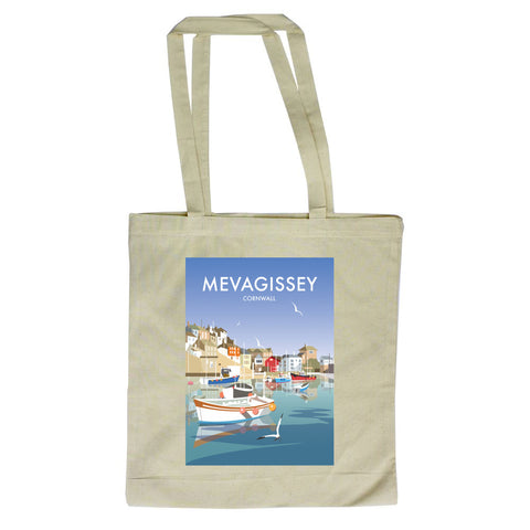 Mevagissey, Cornwall Canvas Tote Bag
