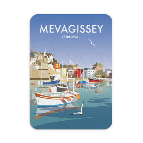 Mevagissey, Cornwall Mouse Mat