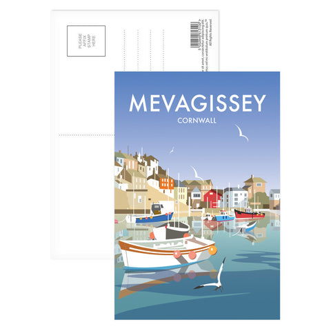 Mevagissey, Cornwall Postcard Pack