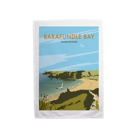 Barafundle Bay, Pembrokeshire Tea Towel