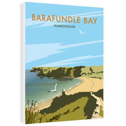 Barafundle Bay, Pembrokeshire Canvas