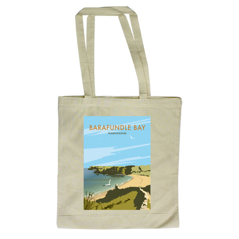 Barafundle Bay, Pembrokeshire Canvas Tote Bag
