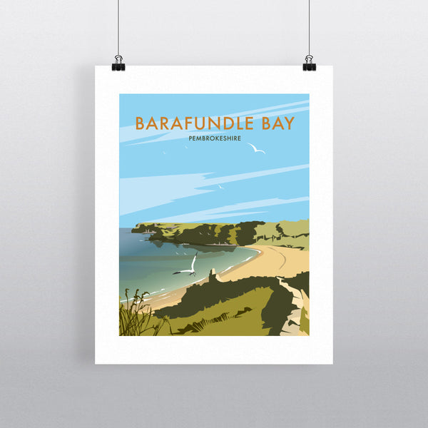 Barafundle Bay, Pembrokeshire 11x14 Print
