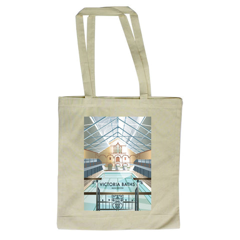 Victoria Baths, Manchester Canvas Tote Bag