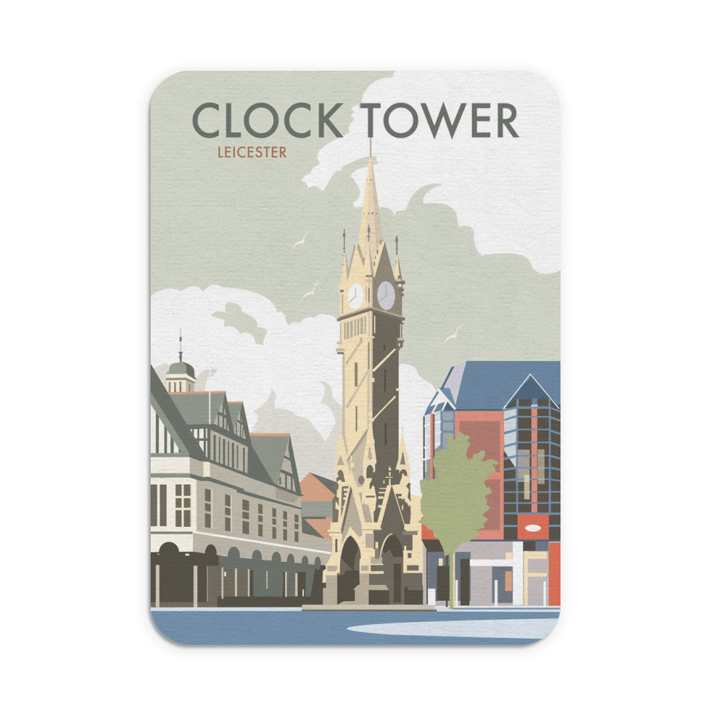 Clock Tower, Leicester Mouse Mat