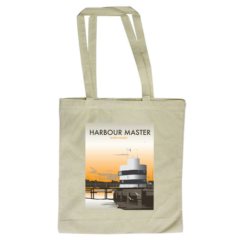 Harbour Master, River Hamble Canvas Tote Bag