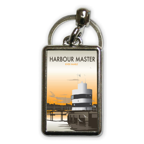 Harbour Master, River Hamble Metal Keyring