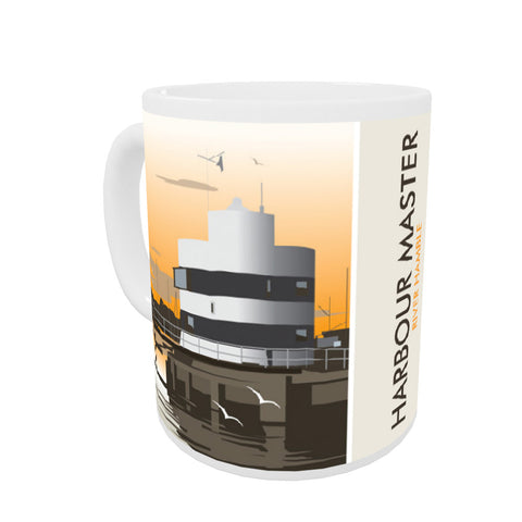 Harbour Master, River Hamble Coloured Insert Mug