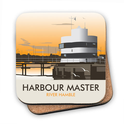 Harbour Master, River Hamble MDF Coaster