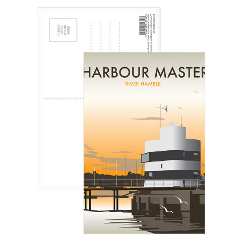 Harbour Master, River Hamble Postcard Pack
