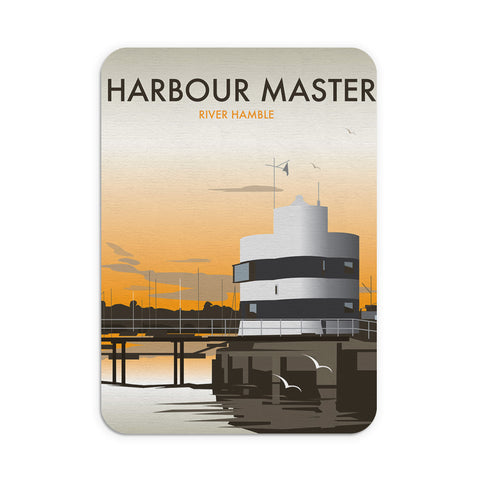 Harbour Master, River Hamble Mouse Mat