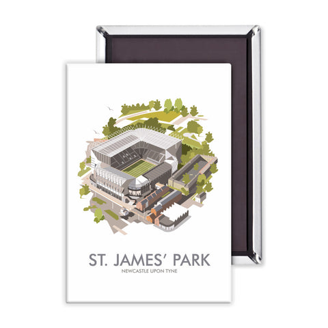 St James Park, Newcastle Upon Tyne Magnet