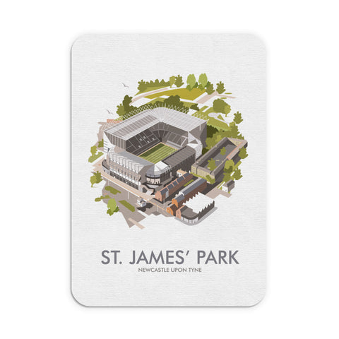 St James Park, Newcastle Upon Tyne Mouse Mat