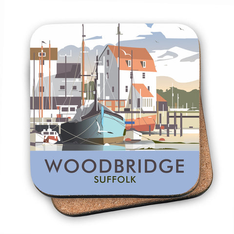 Woodbridge, Suffolk MDF Coaster