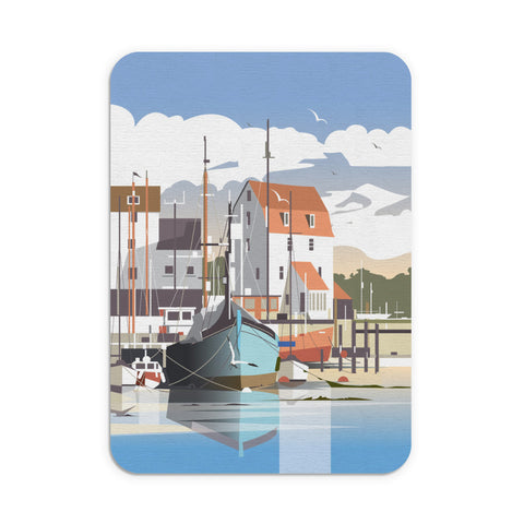 Woodbridge, Suffolk Mouse Mat