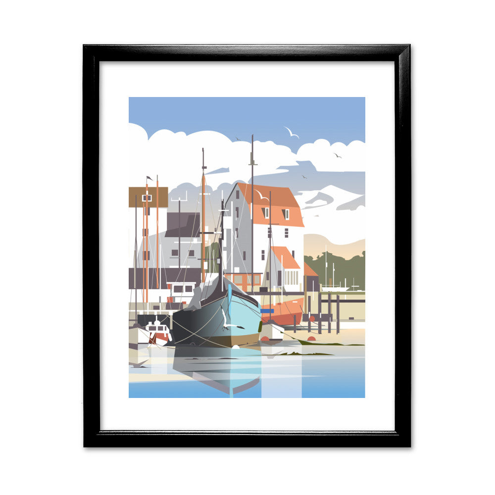 Woodbridge, Suffolk Framed Print