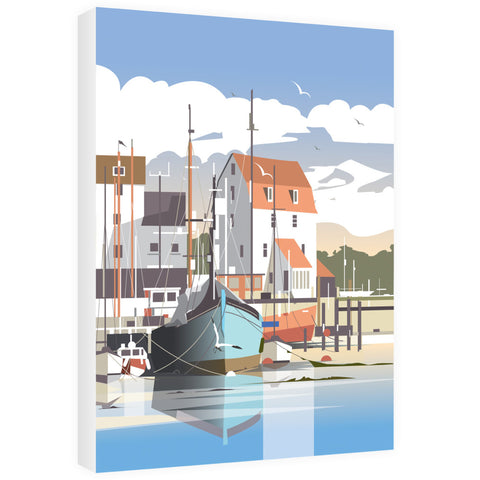 Woodbridge, Suffolk 40cm x 60cm Canvas